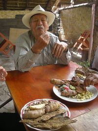 12 - Papas and jerky, Peruvian style