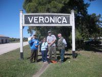 Veronica - arriving