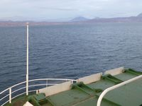 8) Nearing the Baja Coast