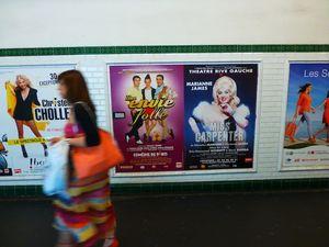 4 Metro posters
