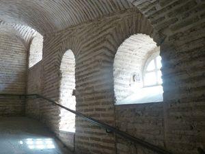 21 Stone rampway