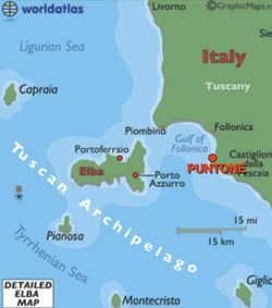 List of Synonyms and Antonyms of the Word elba map