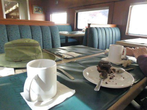 89 Cake on the train