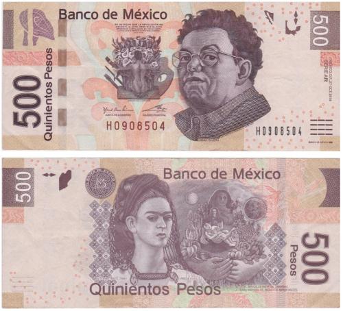500 peso note