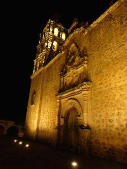 16 Church at night